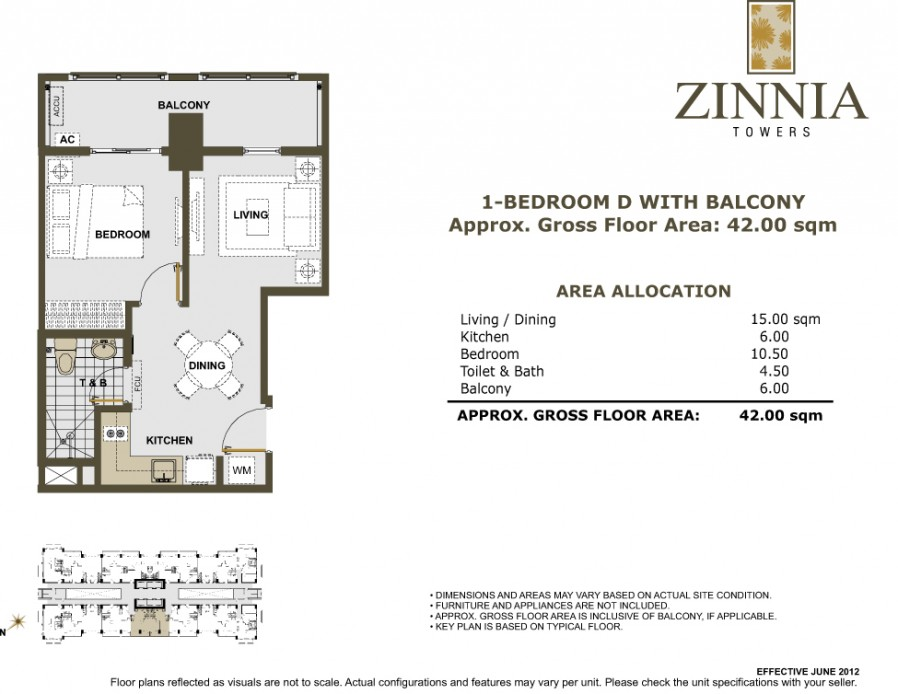 Zinnia Towers Dmci Homes Condo