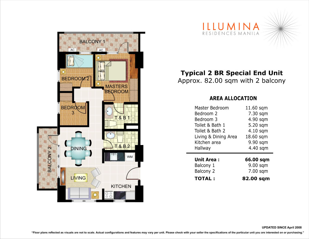 Illumina residences manila dmci homes condo for 4 unit condo plans